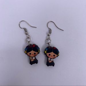 New Mexican Doll Handcrafted Earrings